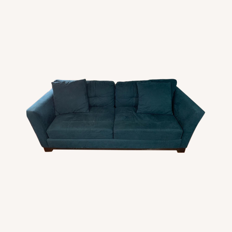 Macy's Queen Sized Sleeper Sofa - image-0