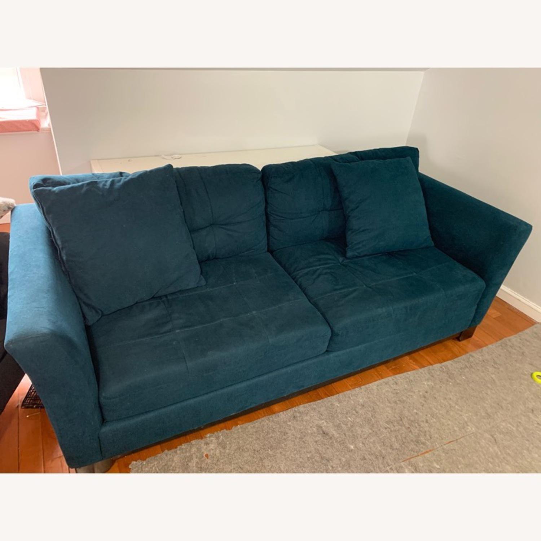 Macy's Queen Sized Sleeper Sofa - image-1