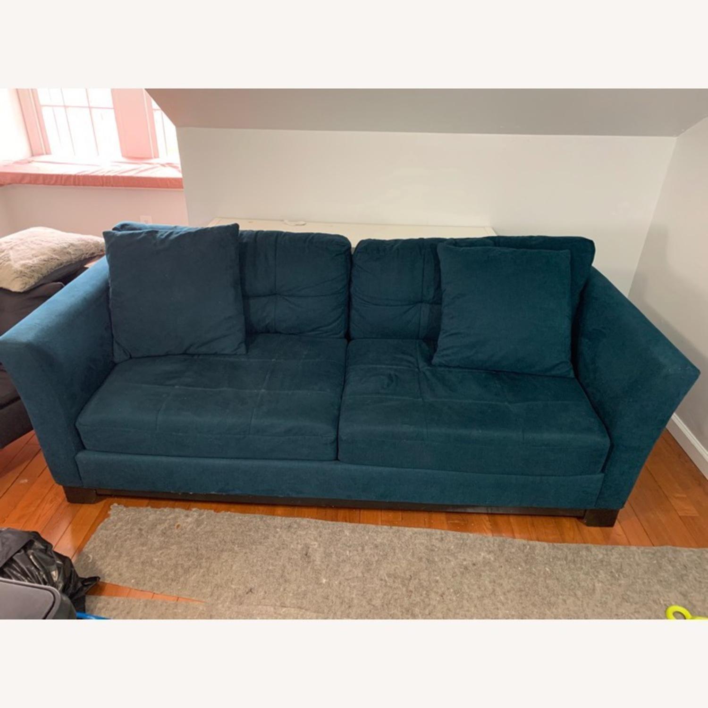 Macy's Queen Sized Sleeper Sofa - image-2