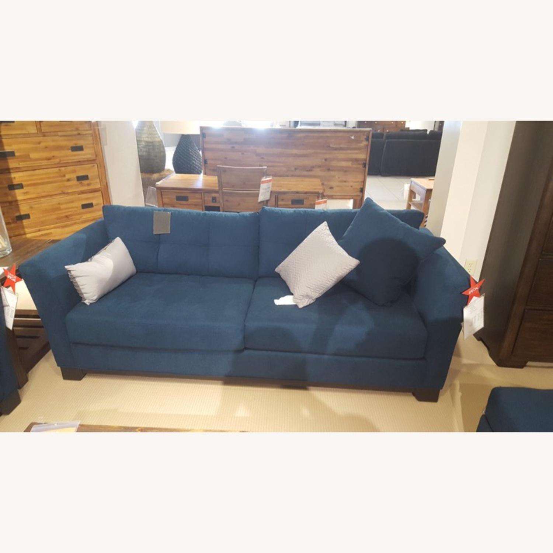 Macy's Queen Sized Sleeper Sofa - image-3