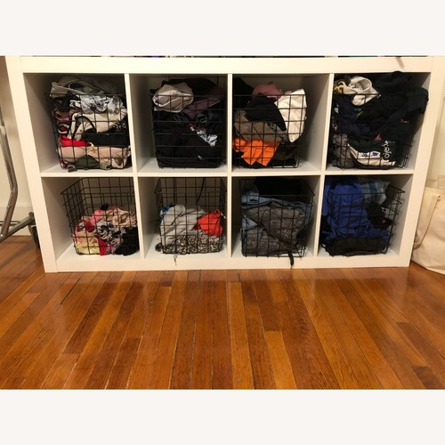 Used Target Decorative Black Metal Baskets for Organizers for sale on AptDeco