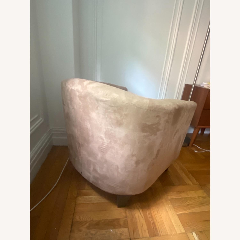 Jennifer Convertibles Tan Barrel Chair - image-5