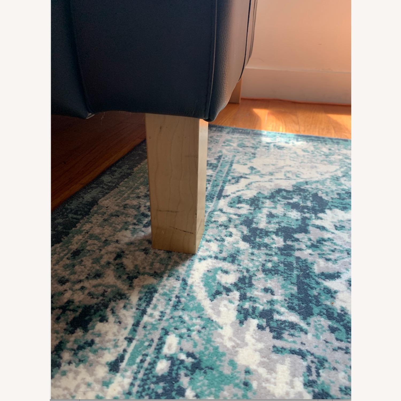 IKEA Morabo Brown Leather Chair - image-3