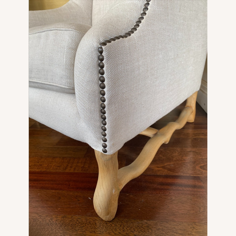 Restoration Hardware 17th Century Wingback Chair - image-2