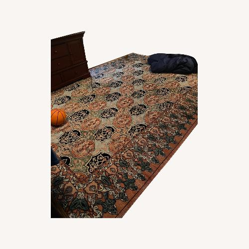 Used Taylor Made Custom Persian Wool Rug for sale on AptDeco