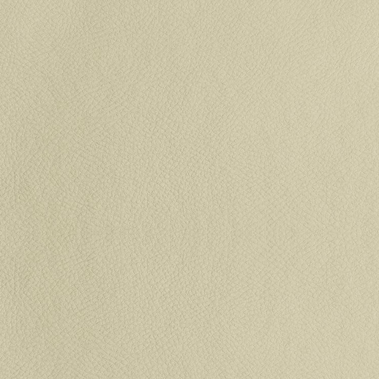 Sofa In Cream Leatherette W/ Top Stitch Details - image-2