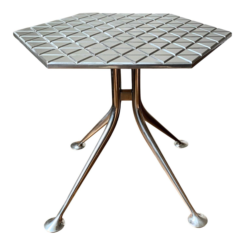 "Alexander Girard Modern ""Hexagonal"" Side Table - image-1"