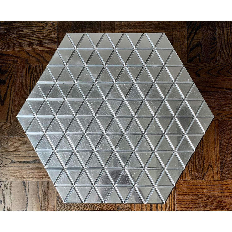 "Alexander Girard Modern ""Hexagonal"" Side Table - image-3"