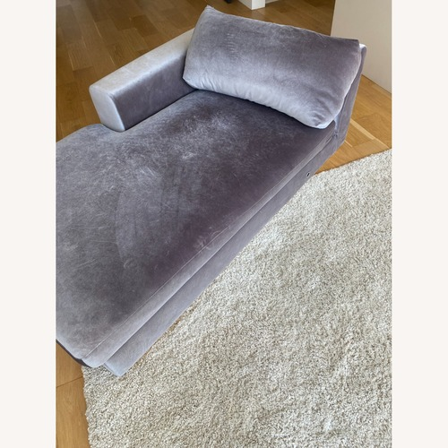 Used Rove Concepts Velvet Sectional for sale on AptDeco