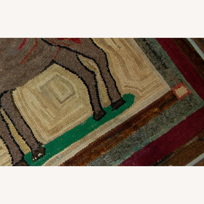 Hooked Rug 3`1x3`1 - image-9