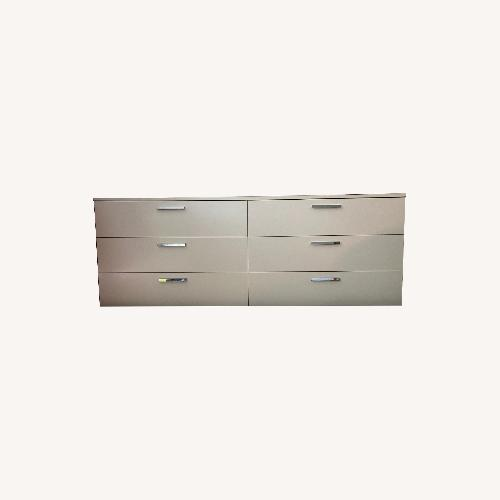 Used BoConcept White 6 Drawer Dresser for sale on AptDeco