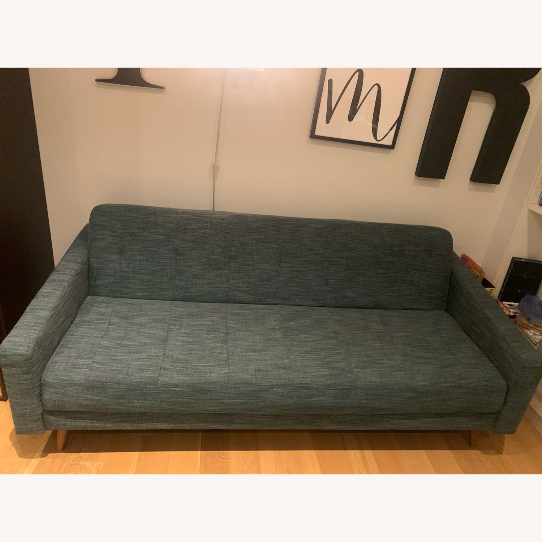 West Elm Futon Sofa - image-1