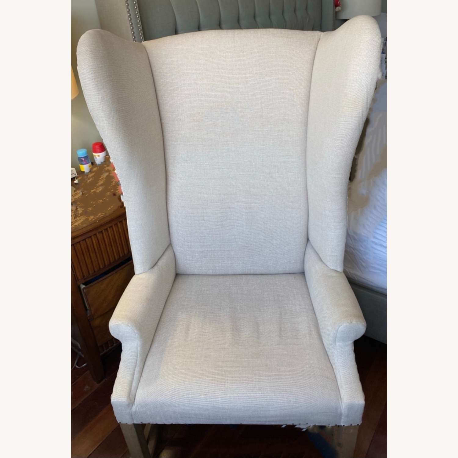 Restoration Hardware French Wingback Chair - image-1