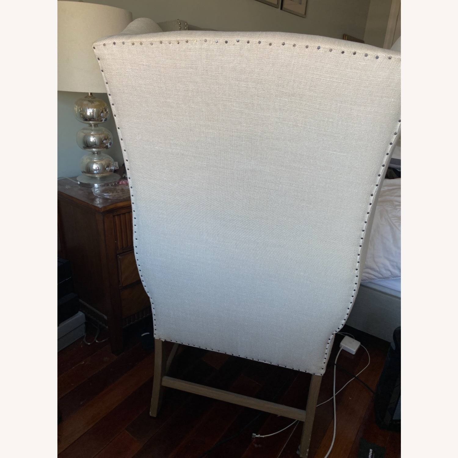 Restoration Hardware French Wingback Chair - image-5