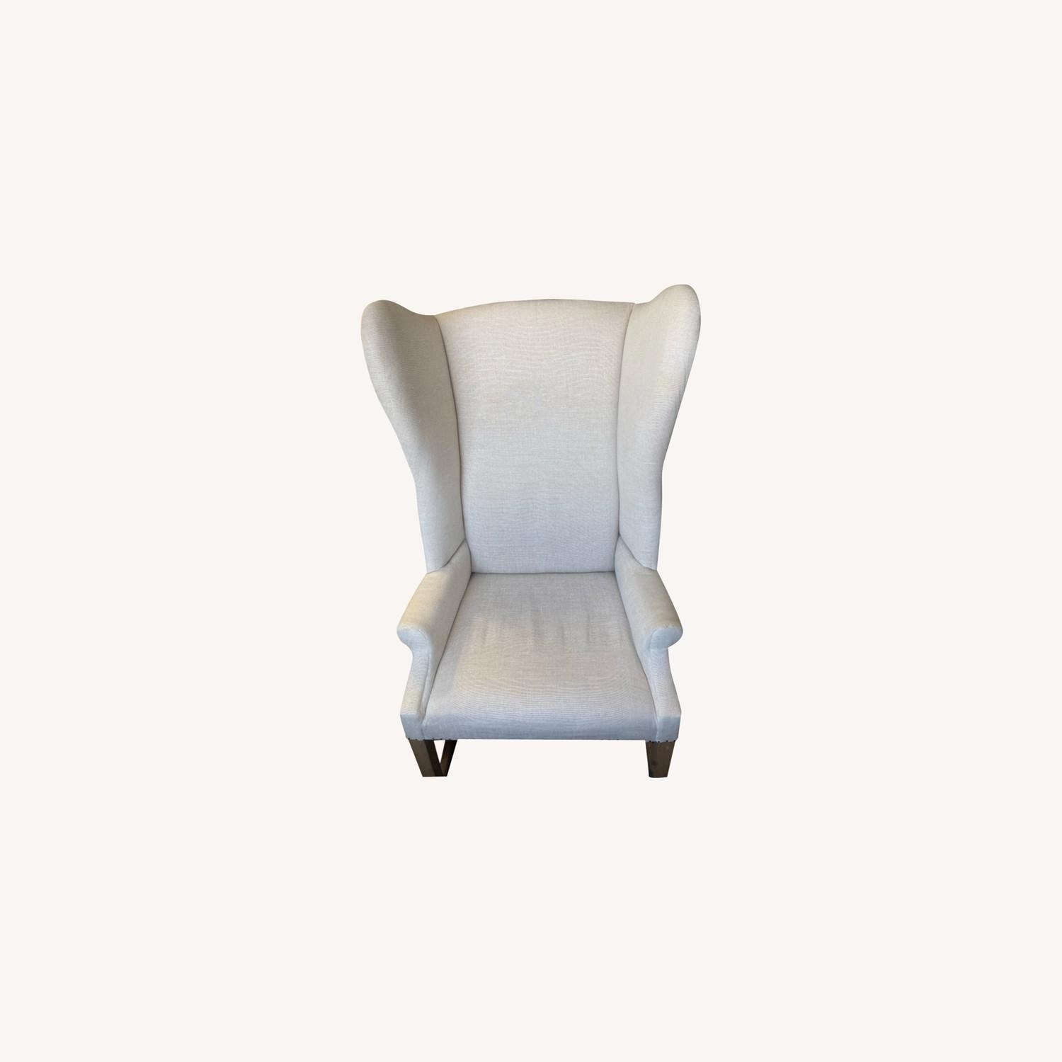 Restoration Hardware French Wingback Chair - image-2