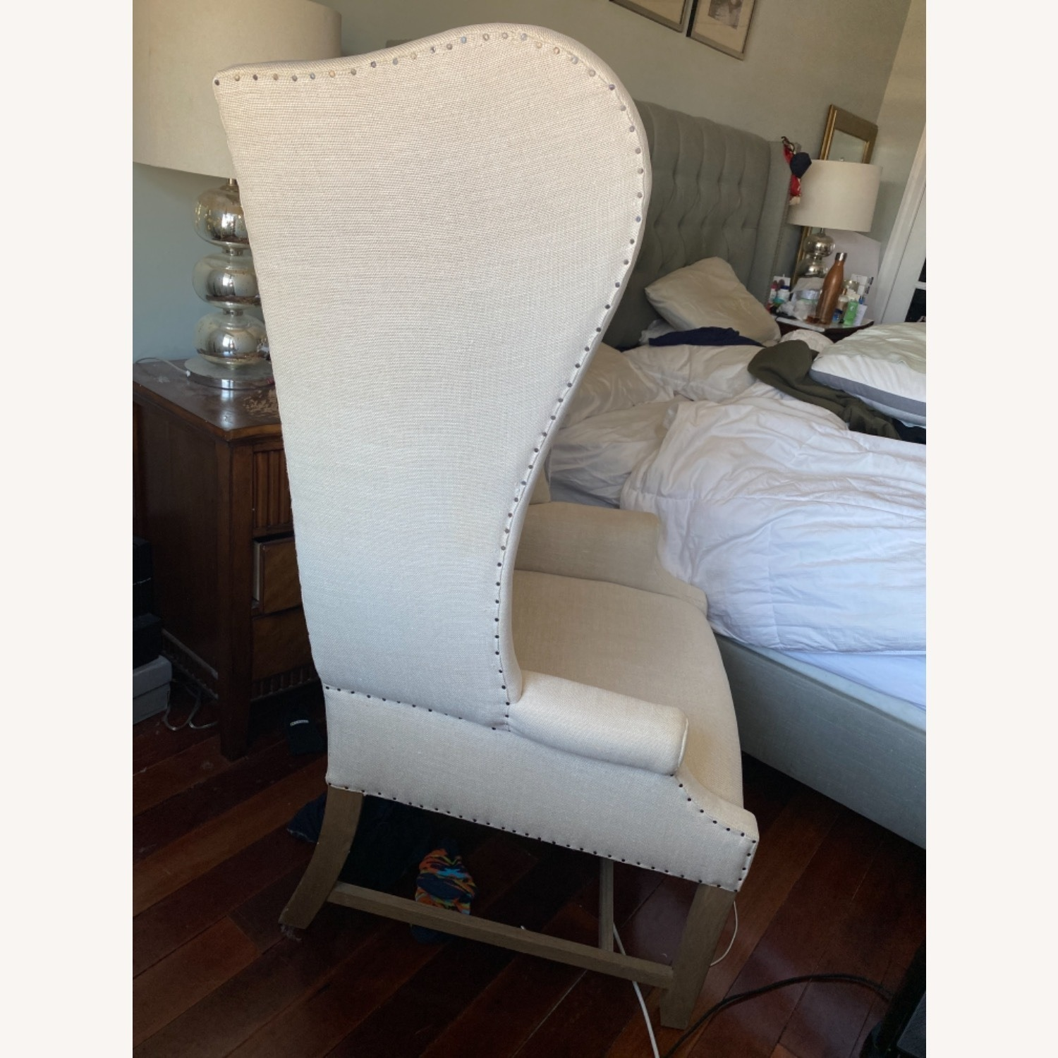 Restoration Hardware French Wingback Chair - image-3