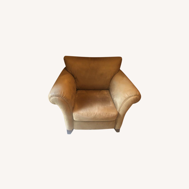 Macy's Comfy Club Chair - image-0