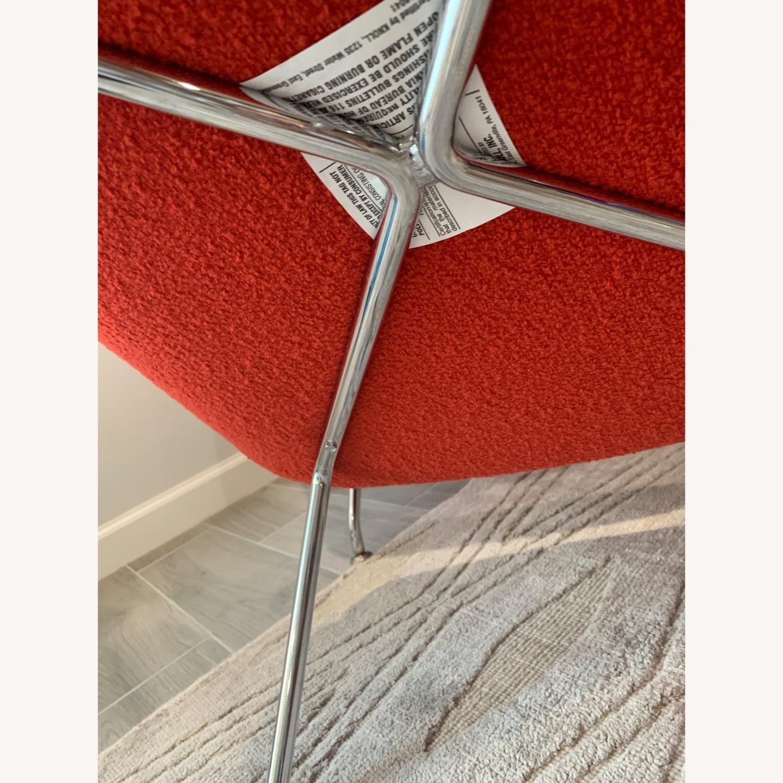 Eero Saarinen Knoll Womb Chair with Ottoman - image-6