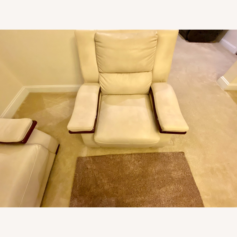 White Arm Chair - image-1