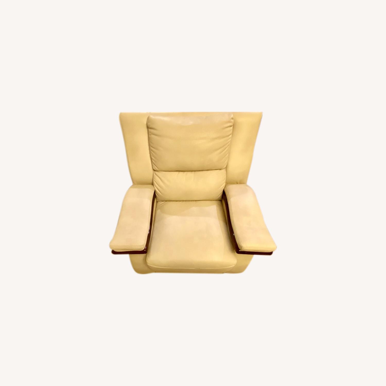 White Arm Chair - image-0