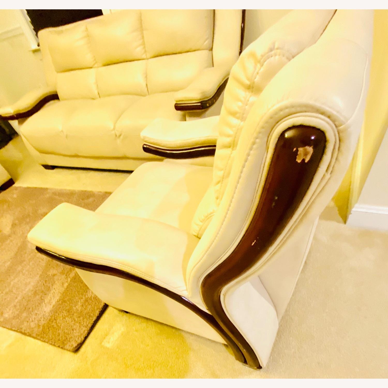 White Arm Chair - image-3