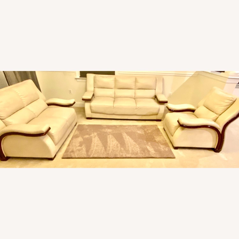 White Arm Chair - image-5