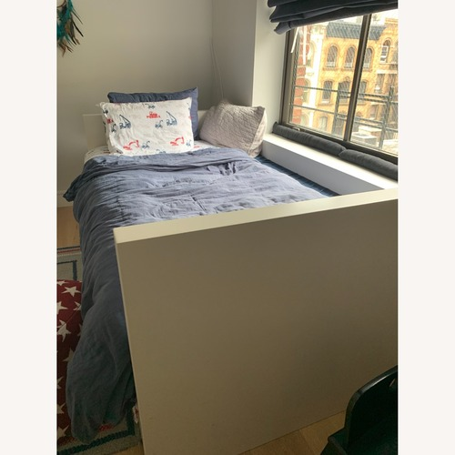 Used West Elm Twin Daybed with Trundle for sale on AptDeco