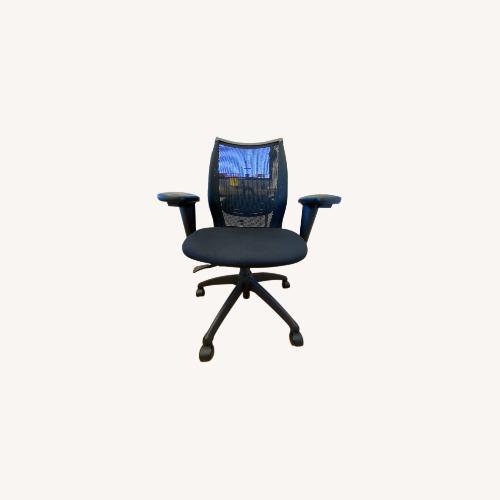 Used Steelcase Ergonomic Black Mesh Office Chair for sale on AptDeco