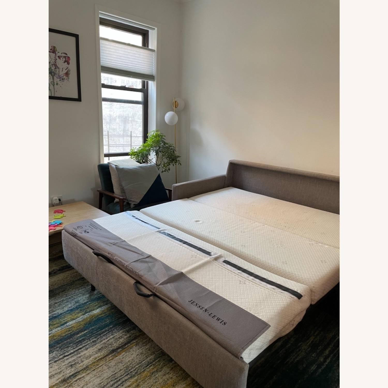American Leather Fabric Sleeper Sofa - image-3