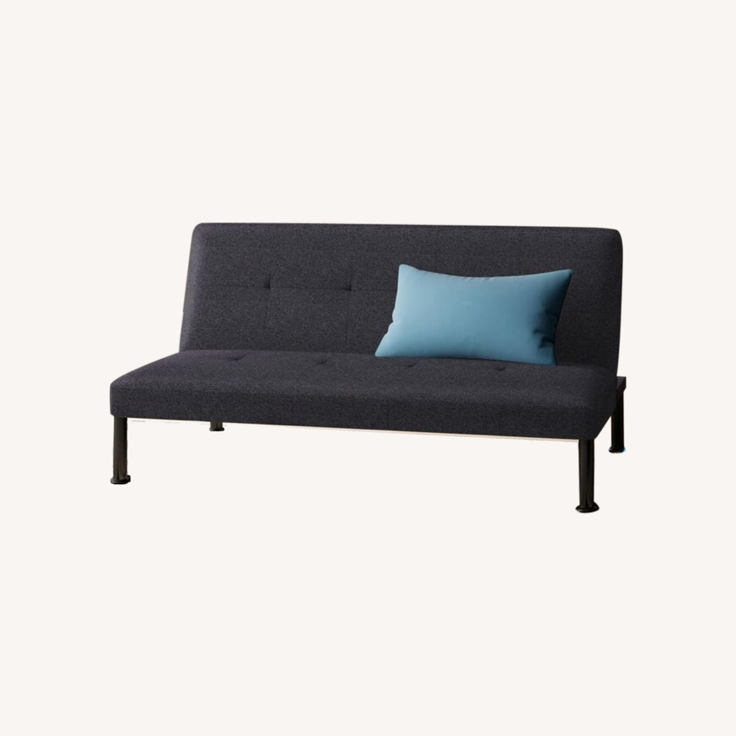 """Wayfair Iselys Twin 64"""" Wide Tight Back Convertible Sofa - image-0"""