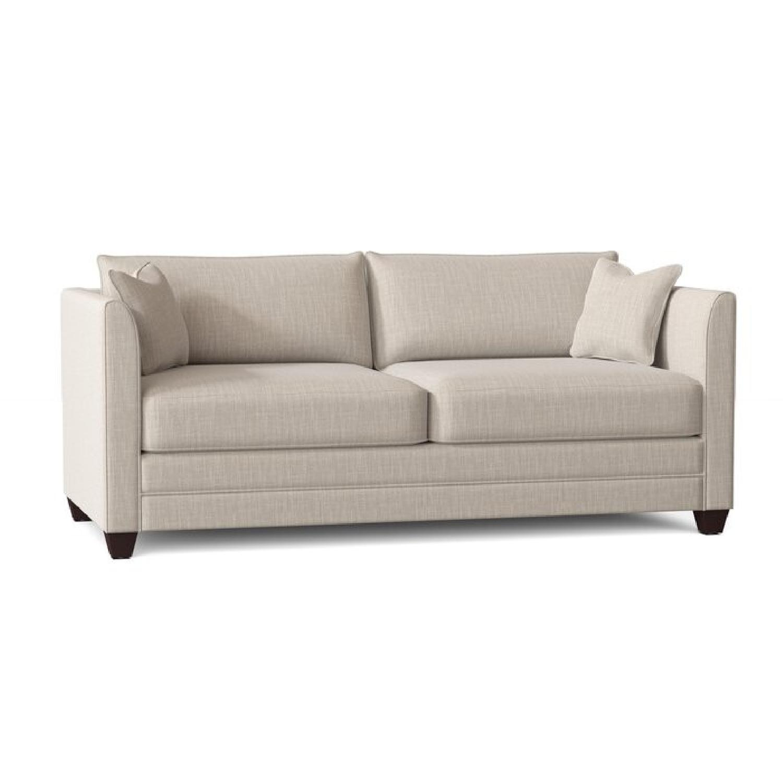 Wayfair  Gray Sofa Bed - image-0