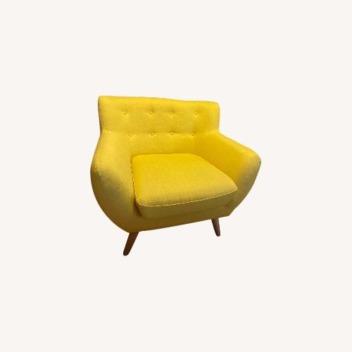 Used Modway Sunny Yellow Modern Chair for sale on AptDeco