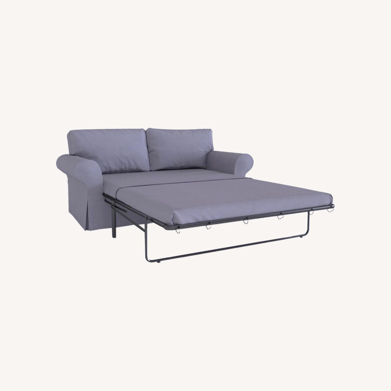 IKEA Ektorp 2 Seat Sleeper Sofa - image-0