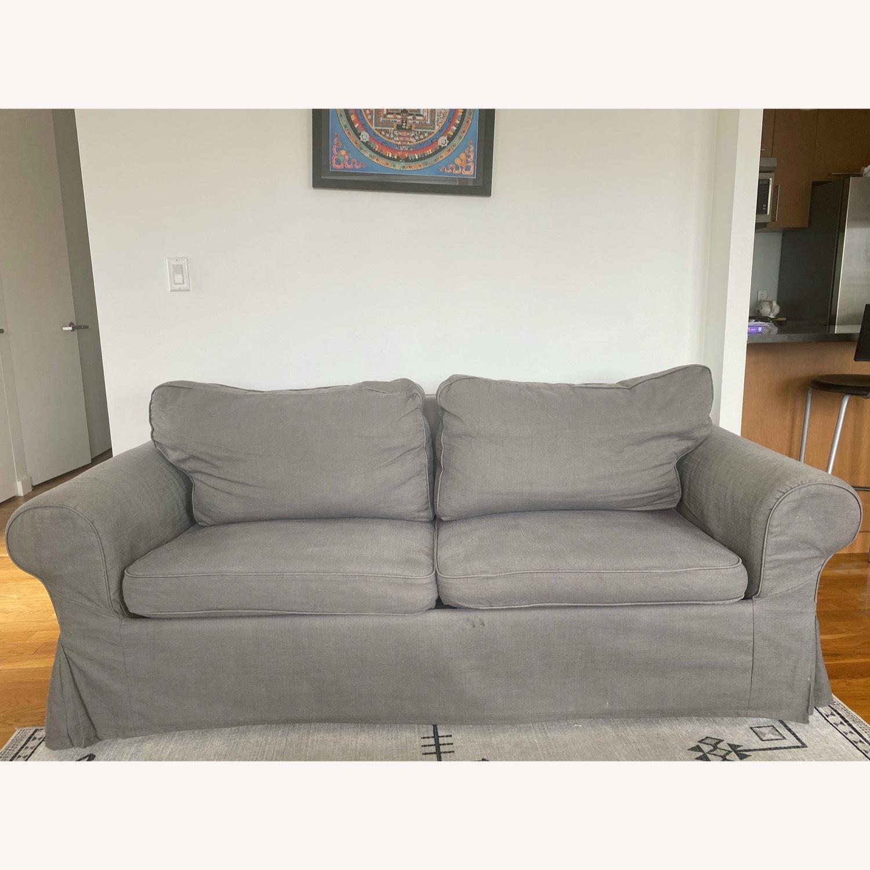 IKEA Ektorp 2 Seat Sleeper Sofa - image-1