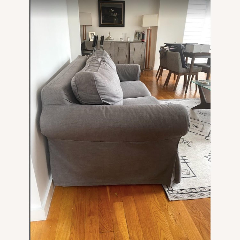 IKEA Ektorp 2 Seat Sleeper Sofa - image-2