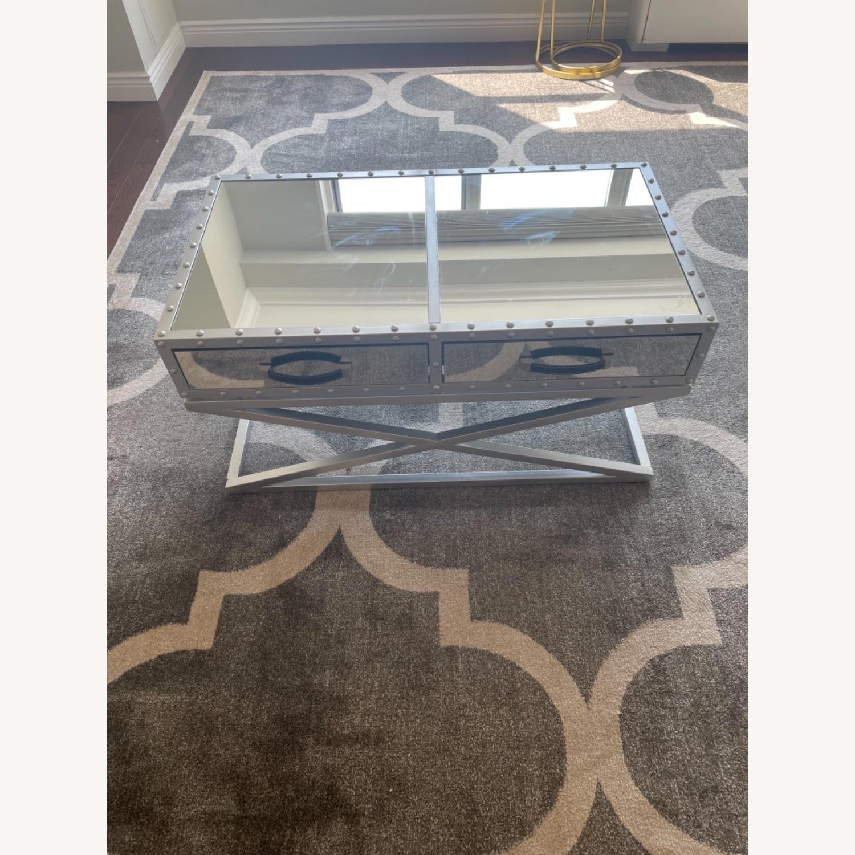 Wayfair Mirrored Coffee Table - image-6