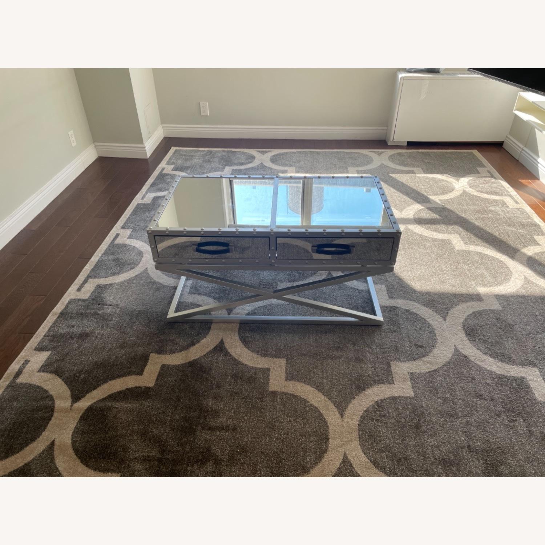 Wayfair Mirrored Coffee Table - image-3