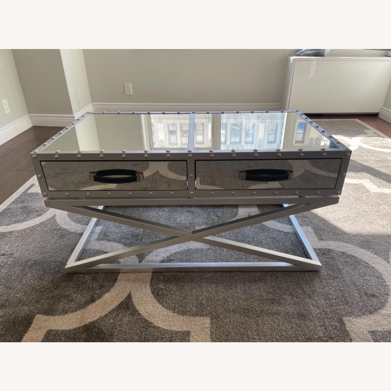 Wayfair Mirrored Coffee Table - image-1