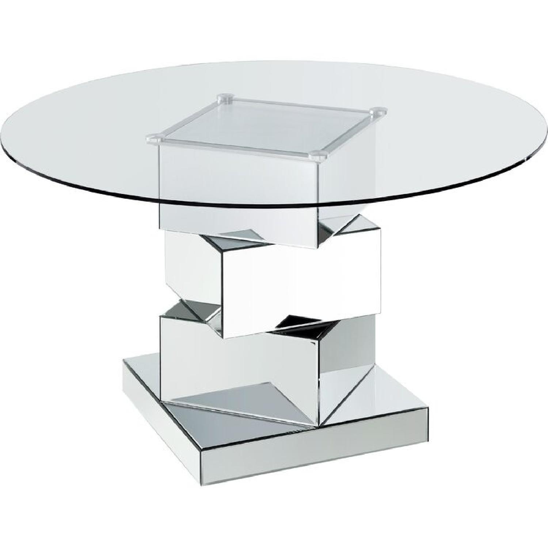 Wayfair Mirrored Dining Table - image-0