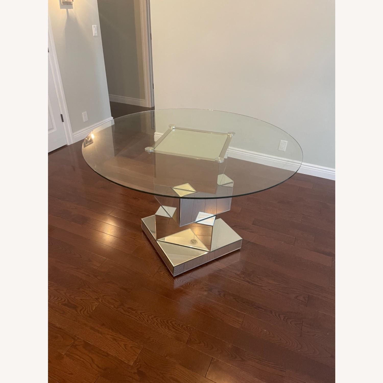 Wayfair Mirrored Dining Table - image-1