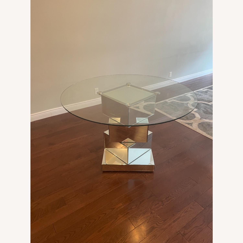 Wayfair Mirrored Dining Table - image-2