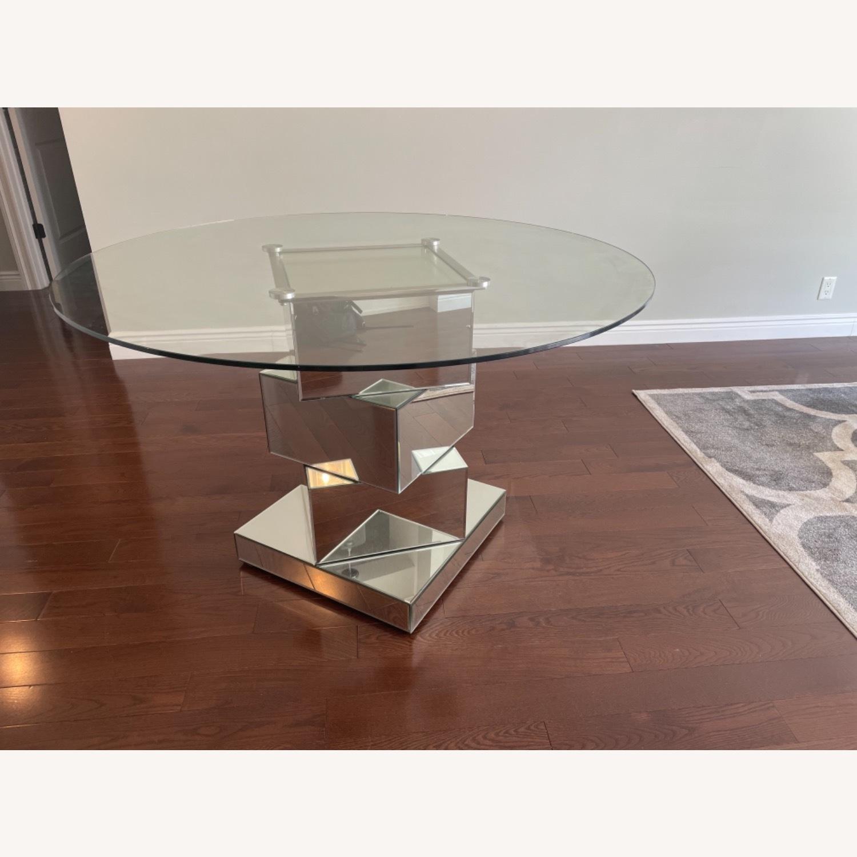Wayfair Mirrored Dining Table - image-5