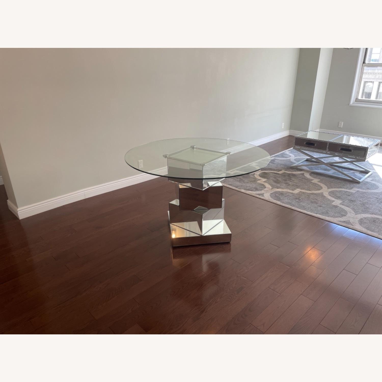 Wayfair Mirrored Dining Table - image-4