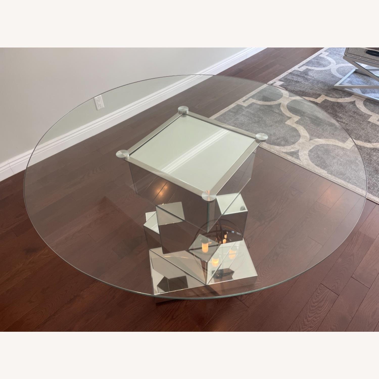 Wayfair Mirrored Dining Table - image-3