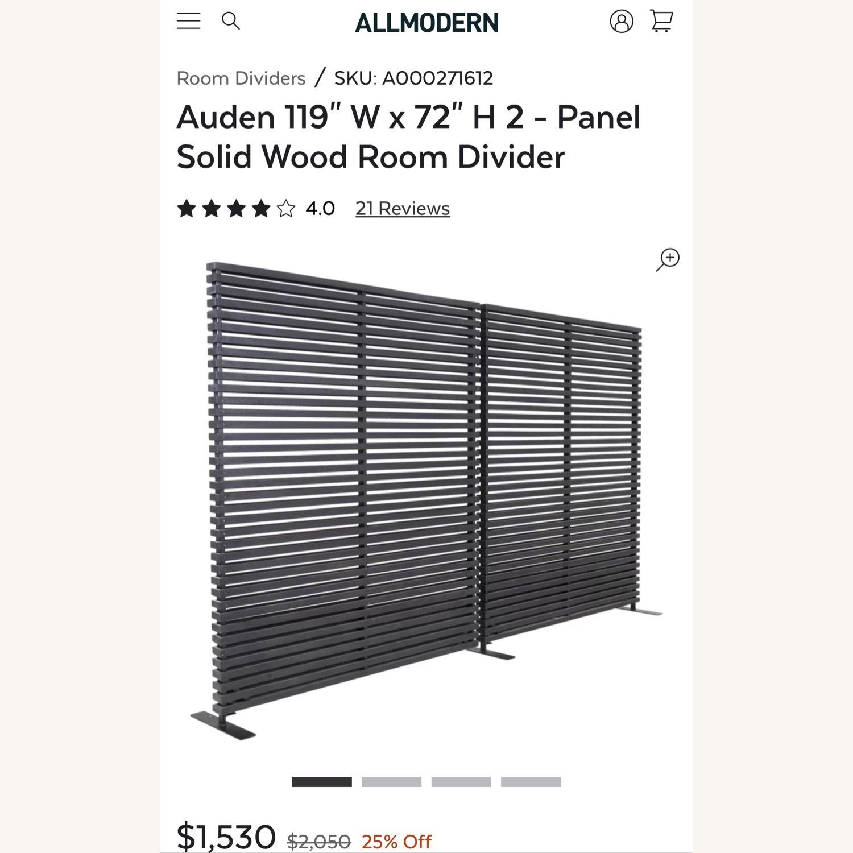 All Modern Wooden Room Divider - image-3
