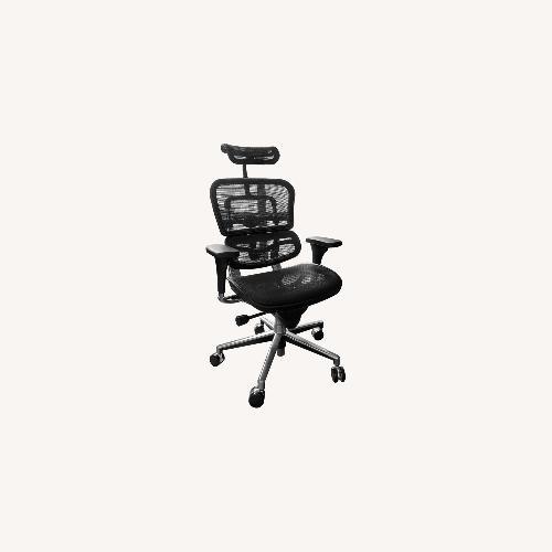 Used Ergohuman Black Ergo Chair for sale on AptDeco