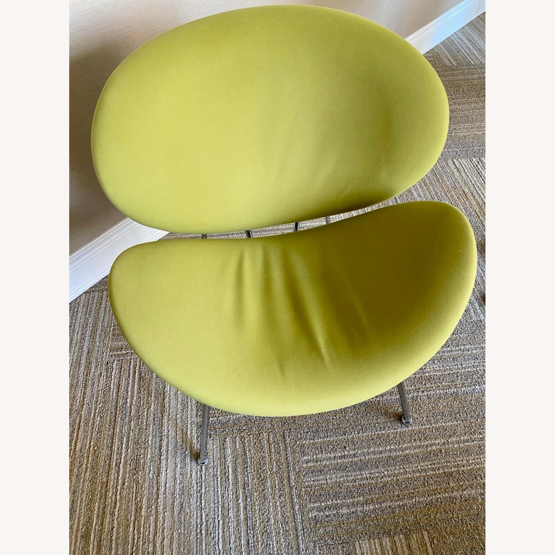 Wayfair Wrought Studio Green Velvet Accent Chair - image-2