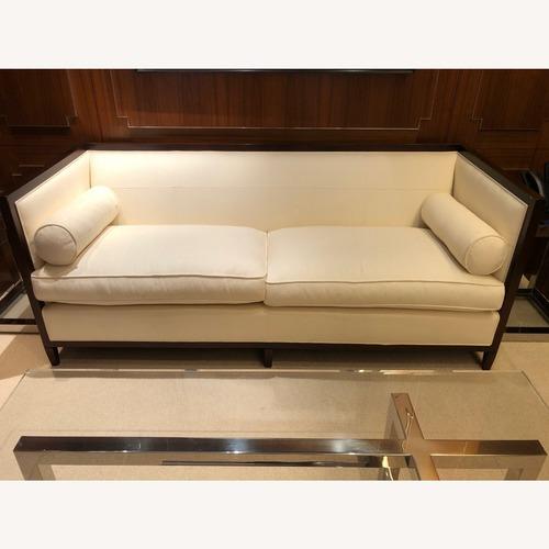 Used Vintage White Sofa for sale on AptDeco