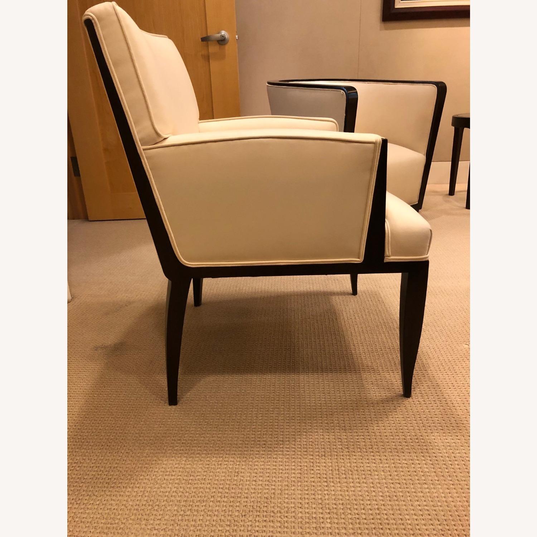 Vintage Ivory Plush Armchair - image-2