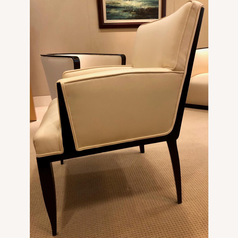 Vintage Ivory Plush Armchair - image-3